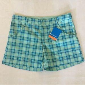 Columbia Plaid Shorts (Girls Sz XL 18-20)